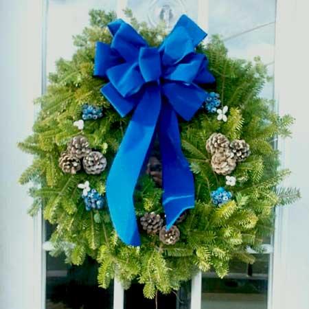 Blueberry Wreath
