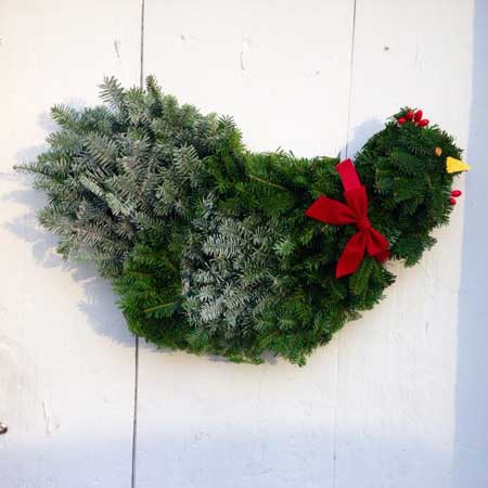 Chicken Wreath